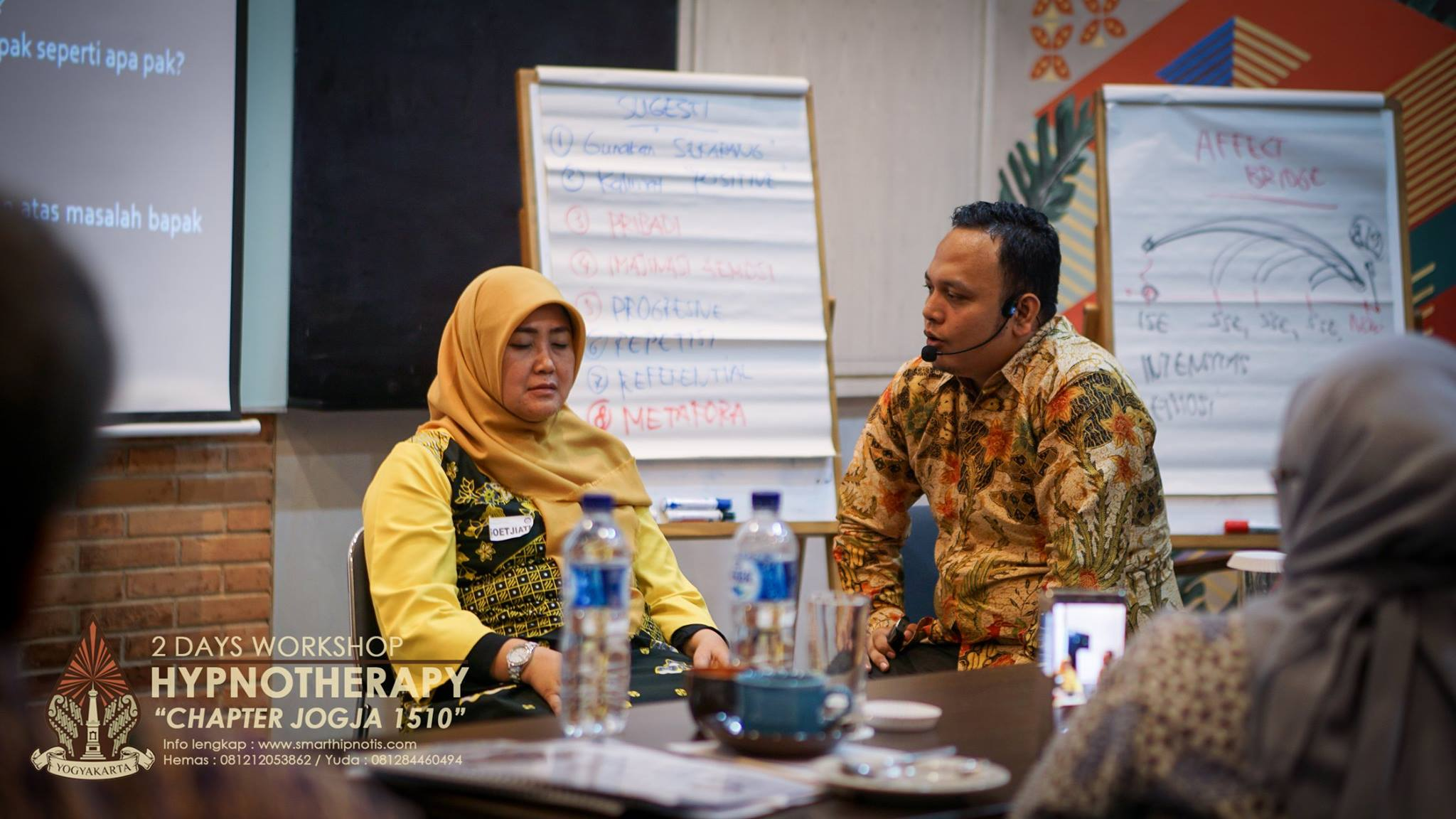 Workshop Hypnotherapy Jogja